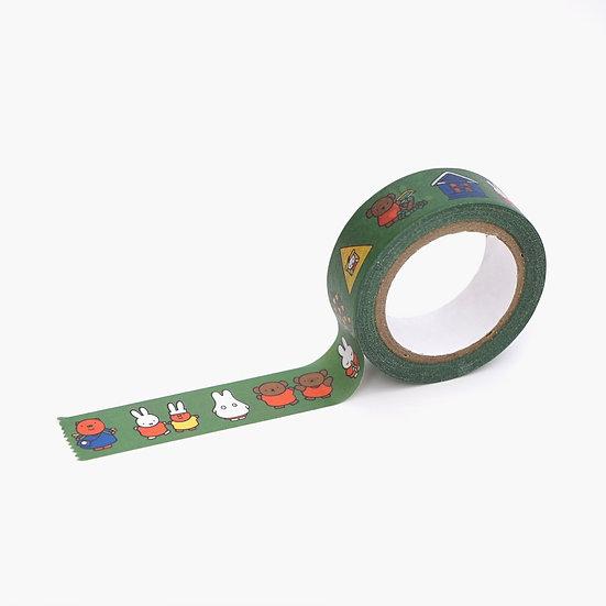 MIFFY GREEN | Miffy Masking Tape