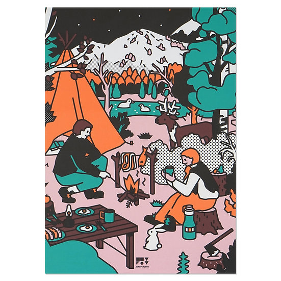 CAMPING | A5 note