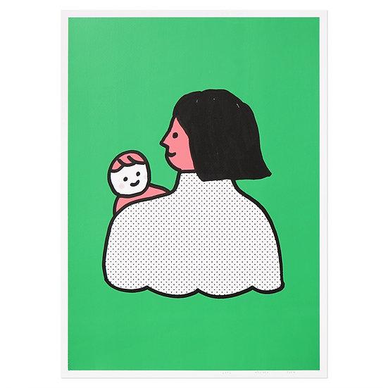 PEEKABOO | Silkscreen poster