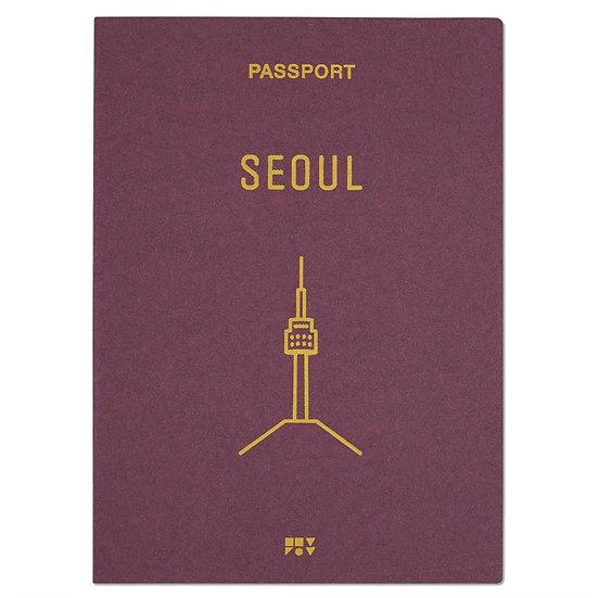 SEOUL burgundy2 | Passport cover