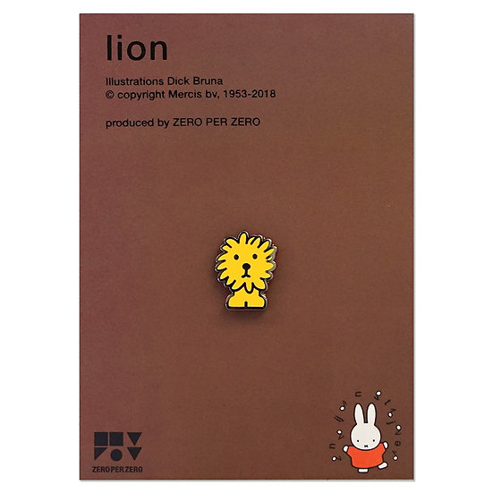 LION | Miffy Pin