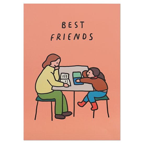 BEST FRIENDS | A3 poster
