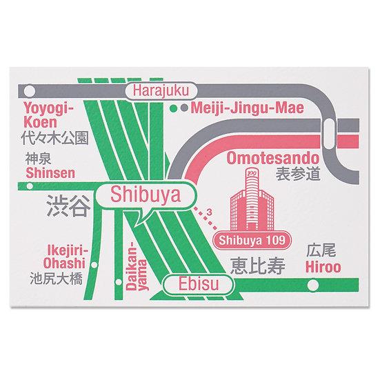 TOKYO SHIBUYA3 | Postcard