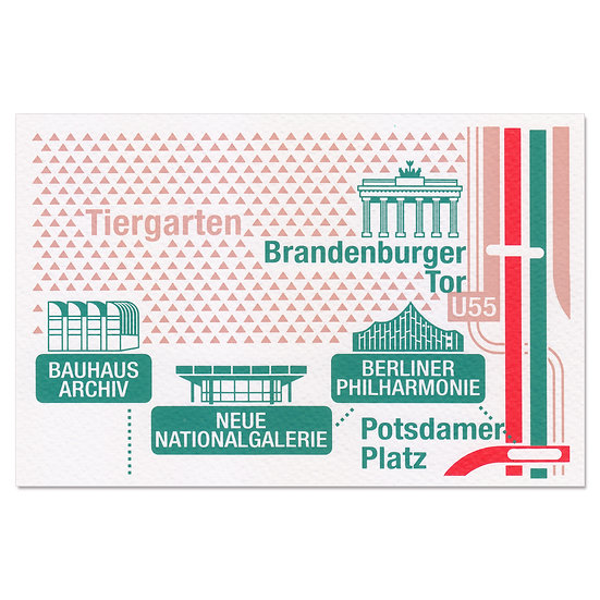 BERLIN BRANDENBURG | Postcard