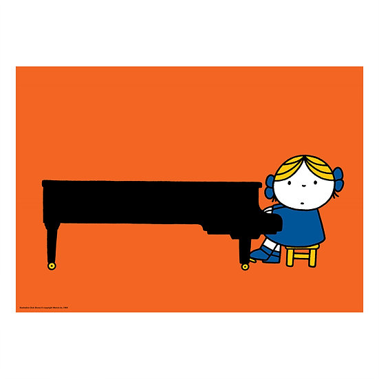 PIANO | MIFFY A2 poster