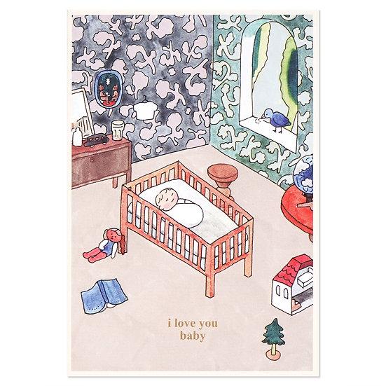 BABY | Cake card