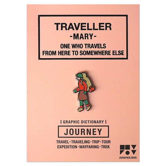 TRAVELLER MARY | Pin
