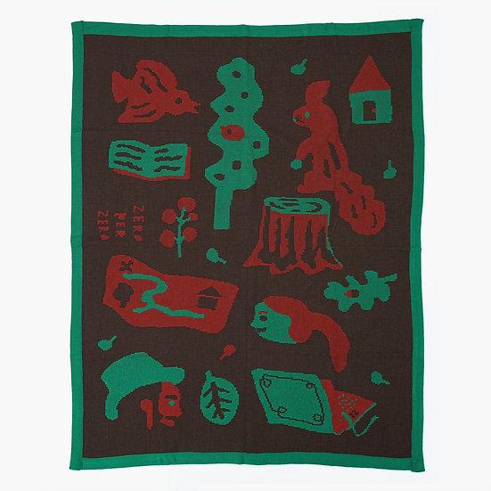 FOREST Brown | Blanket