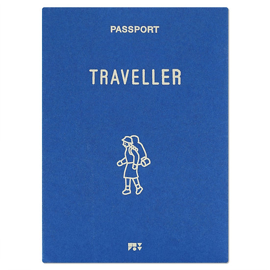 TRAVELLER blue | Passport cover