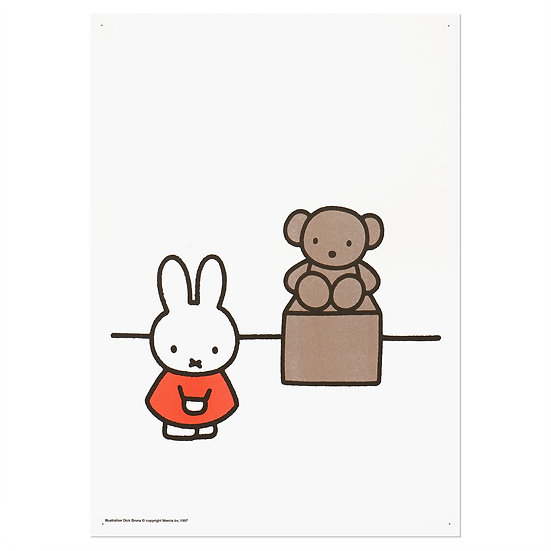 MIFFY - MUSEUM | A3 RISO poster