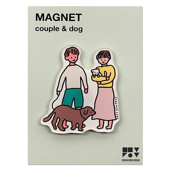 COUPLE&DOG | Magnet