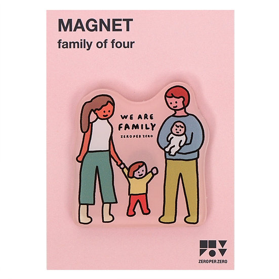 FAMILY OF FOUR | Magnet
