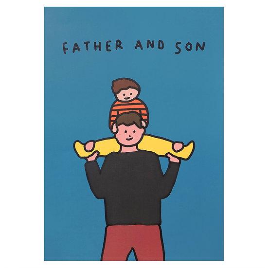 PIGGYBACK2(Son) | A3 poster