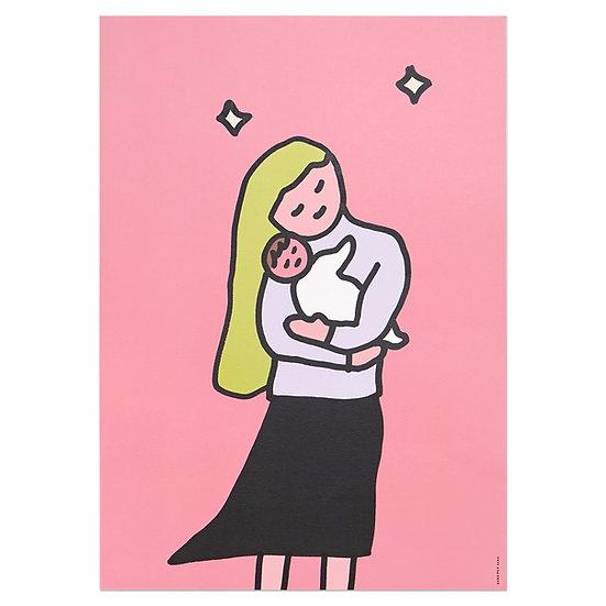 HUG OFFSET | A3 poster