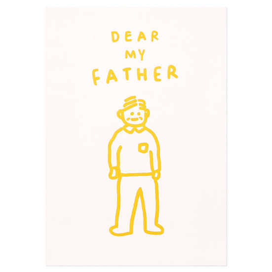 DEAR MY FATHER | Pressed Card