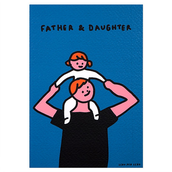 PIGGYBACK(daughter) | Silkscreen card