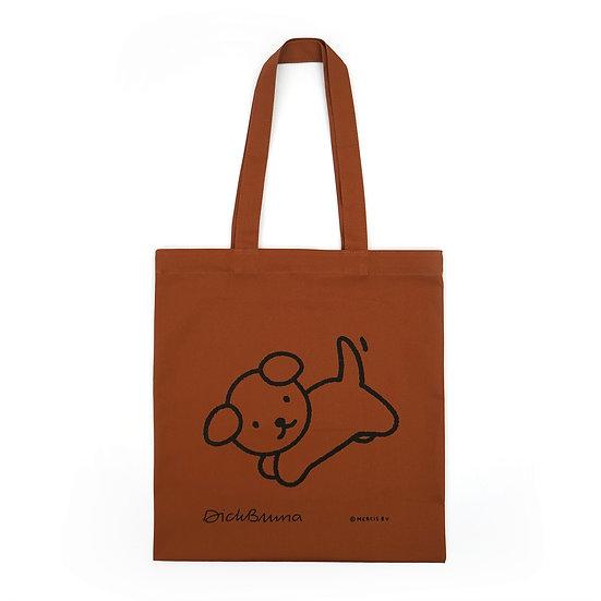 SNUFFY brown | Miffy Eco bag