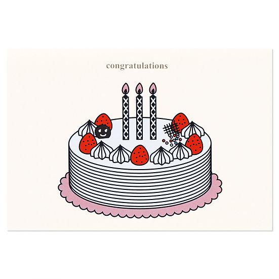 BASIC CAKE   Cake card