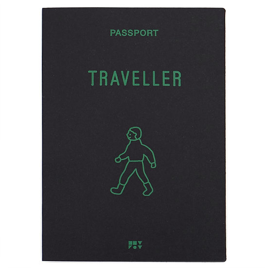 WALKWALK BOY black | Passport cover