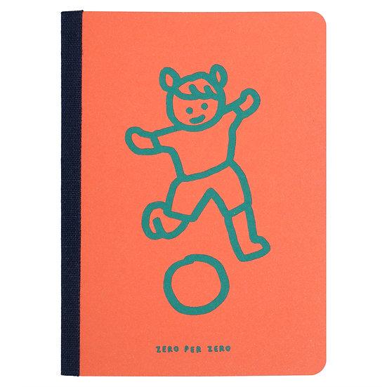 PLAYING BALL orange | Passport note