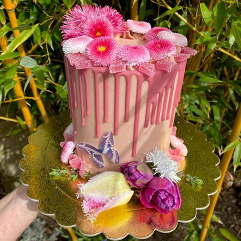 Kate's Kakes Rhubarb and Ginger Cake