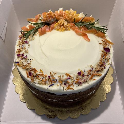 Kate's Kakes Carrot Cake