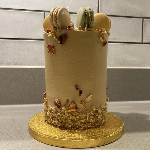 Kates Kakes Mini Coffee Celebration Cake