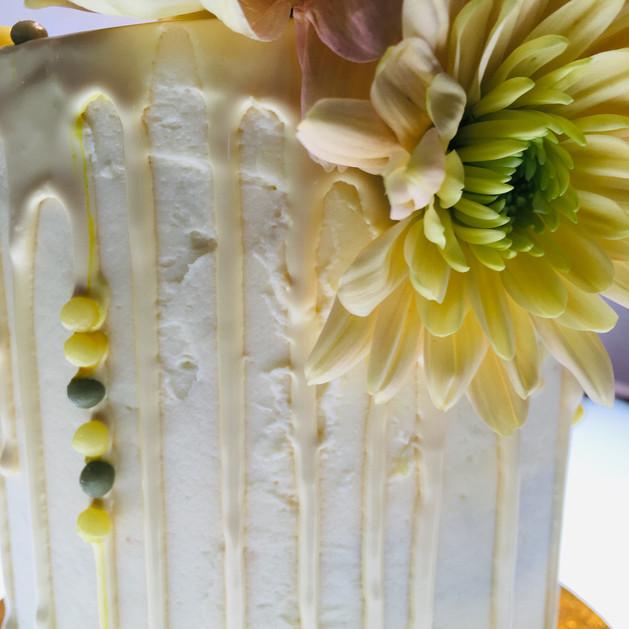 Kates Kakes Lemon, Lime and Elderflower Cake