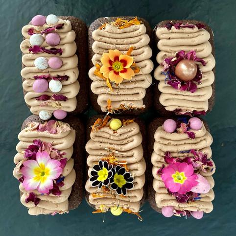Kate's Kakes Chocolate Mini Loaves.