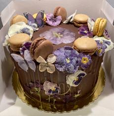 Kate's Kakes Chocolate Birthday Cake.