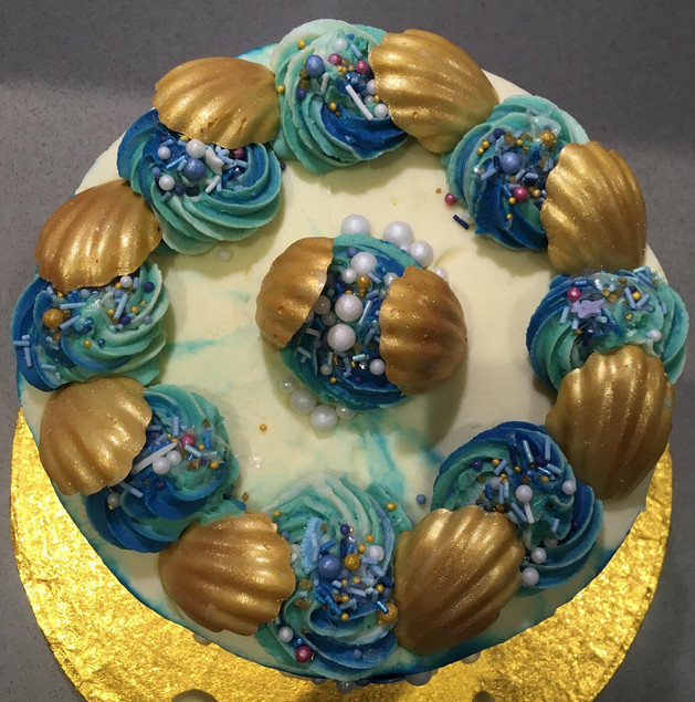 Marine Themed Birthday Cake
