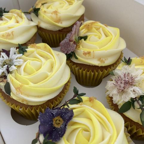 Kate's Kakes Earl Grey and Lemon Cupcakes
