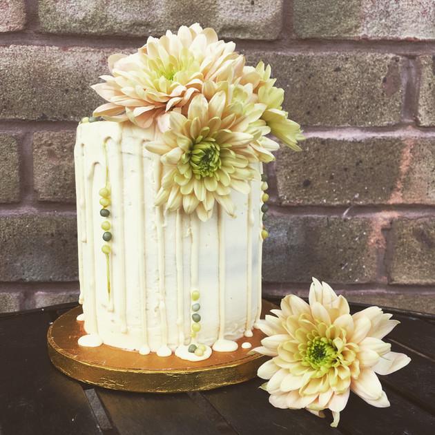 Kates Kakes Lemon, Lime and Elderflower Cake.