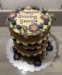 Kate's Kakes 21st Birthday Cake.