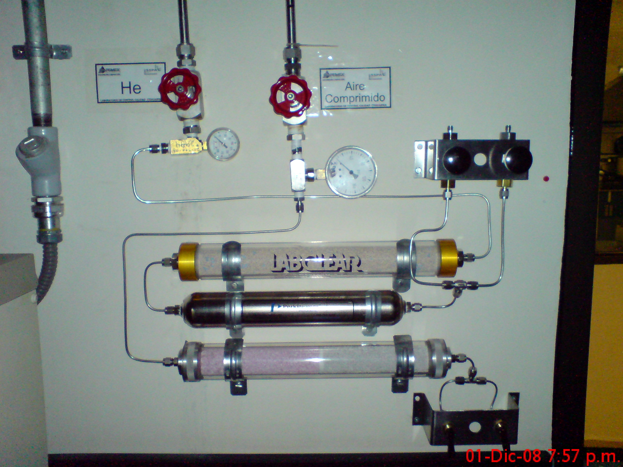 Instalaciones de líneas de gas