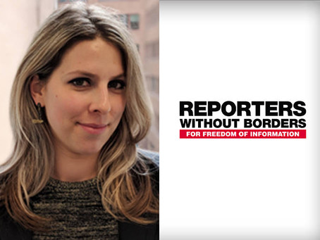 """""""How high is the risk for reporters?"""" Just Ask the Question Episode 03 with Margaux Ewen"""