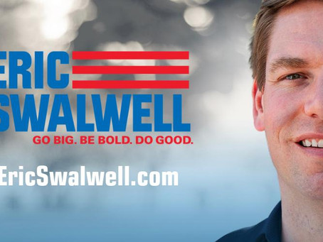 """What's the road forward?"" Just Ask the Question Episode 45: With Rep. Eric Swalwell"