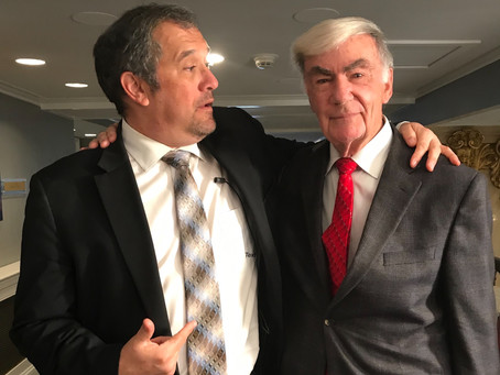 """Hold on Mr. President!"" Just Ask the Question Episode 24 with Sam Donaldson"