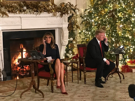 Everybody who doesn't like Trump sucks - but a very Merry Christmas