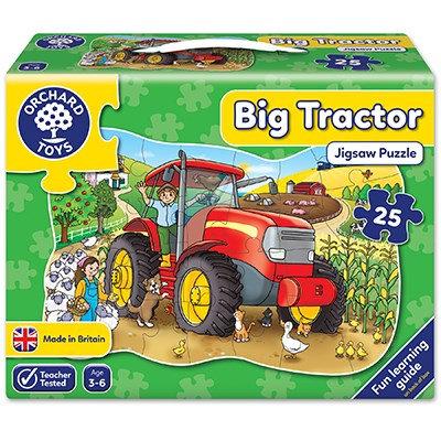 Big Tractor Jigsaw 25 pieces