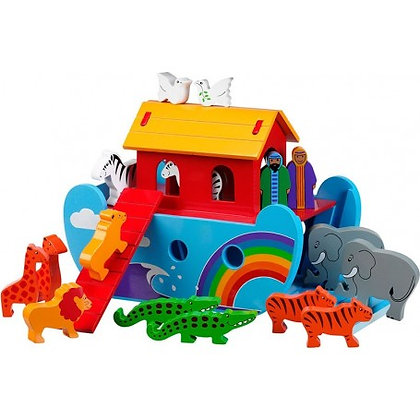 Small Rainbow Noah's Ark