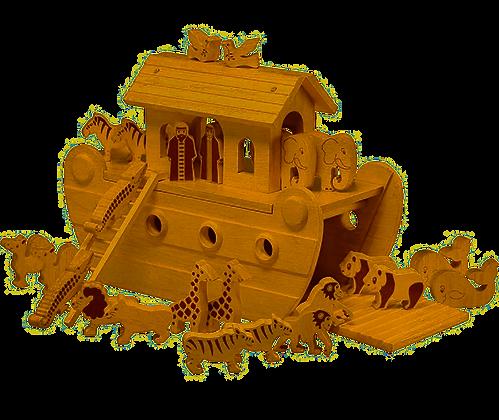 Deluxe Natural Noah's Ark