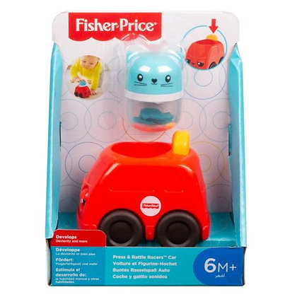 Fisher Price Press & Rattle Racers Car