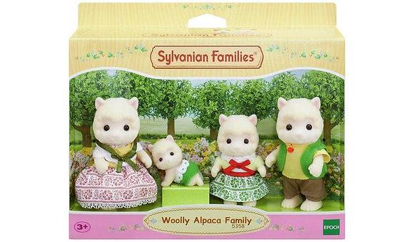 Sylvanian Families Wooly Alpaca Family
