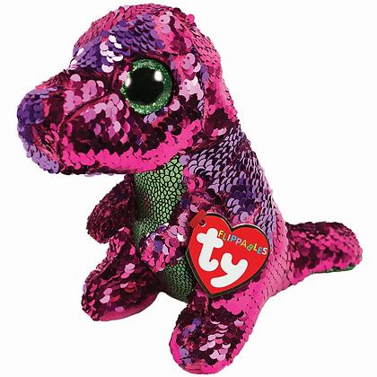 TY Flippable Stompy Dino 15cm 36262
