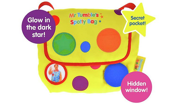 Mr Tumble SpottyBag
