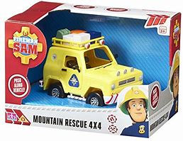Fireman Sam Mountain Rescue 4x4