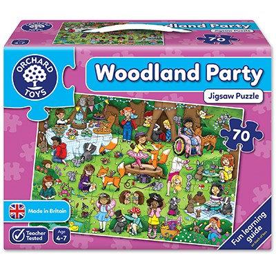 Woodland Party 70 piece jigsaw