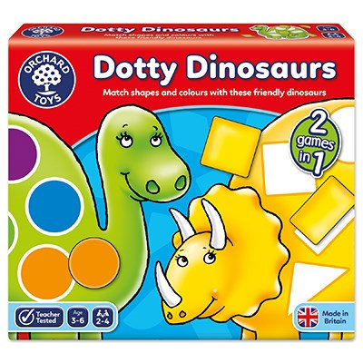 Orchard Dotty Dinosaurs