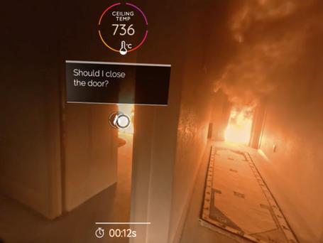 FENZ 'Escape my House' VR campaign